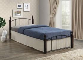 Σετ κρεβάτι και στρώμα ημίδιπλο ZE8096,0S / ΔΙΑΣΤΑΣΕΙΣ Κρεβ125x210x76+Στρώμα120x200cm