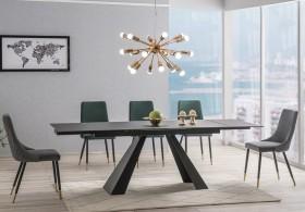 S / Salvadore τραπέζι ανοιγόμενο 160/240Χ90Χ76