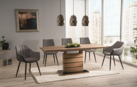 S / Leonardo Oak Τραπέζι επεκτεινόμενο