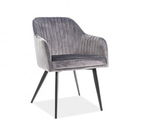 S / Elina Velvet Καρέκλα 48Χ48Χ46/82