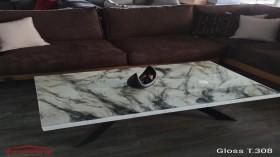 Gloss T.308 τραπεζάκι σαλονιού 120x70x45 cm