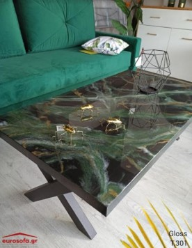 Gloss T.301 τραπεζάκι σαλονιού 120x70x45 cm