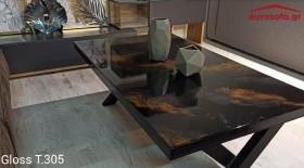 Gloss T.305 τραπεζάκι σαλονιού 120x70x45 cm