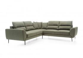 QUATTRO Καναπές γωνία με κρεβάτι 265 x 265 x 75/98 cm