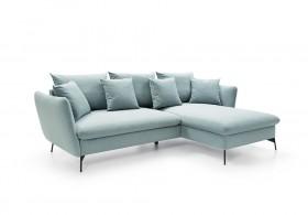 VITON Καναπές γωνία με κρεβάτι 258 x 167 x 91 cm