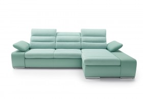 Cuba Καναπές γωνία με κρεβάτι και αποθηκευτικό χώρο