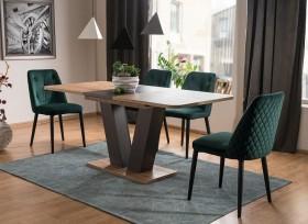S/ Platon τραπέζι 76x80x126/176 cm
