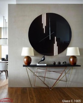 Glass C.1005 ρολόι τοίχου 90 cm