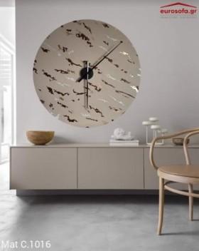 Mat C.1016 ρολόι τοίχου 90 cm