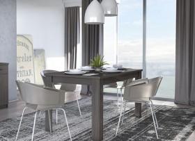 Harlem Τραπέζι 120+30x90x80 cm
