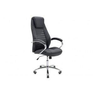 Καρέκλα γραφείου διευθυντή Sonar με PU χρώμα μαύρο