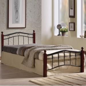 Κρεβάτι ημίδιπλο ZE8040 /  118x212x82 (Στρώμα 110x200)cm