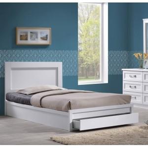 Κρεβάτι μονό με συρτάρι ZEM3633,1 /  99x207x93 (Στρώμα 90x200) cm