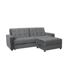 Καναπές/Κρεβάτι+Σκαμπώ ZE9579,3 /  Καν.193x81x77+Σκαμπώ79x60x40cm
