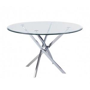 Τραπέζι ZEM926 /  D. 120 H.73 cm
