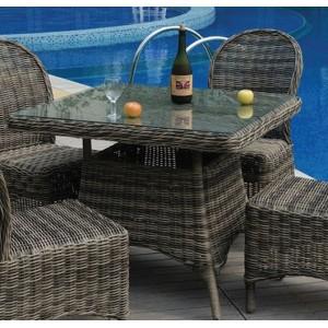 Τραπέζι ZE6551 /  90x90 H.75 cm