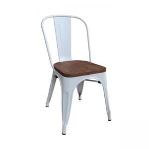 Kαρέκλα ZE5191W /ΔΙΑΣΤΑΣΕΙΣ 45x51x85cm