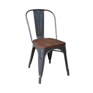 Καρέκλα ZE5191W,10 / ΔΙΑΣΤΑΣΕΙΣ 45x51x85 cm