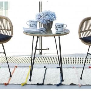 Τραπέζι ZE244,T /  D. 52x53 cm