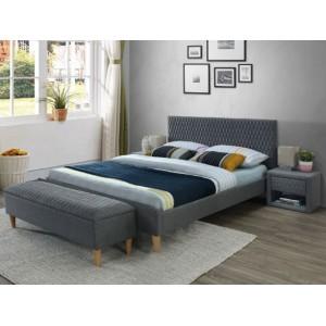 S/Azurro κρεβάτι 206x165x36/96 cm