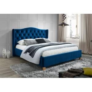 S/Aspen Velvet κρεβάτι 216x178x36/124 cm