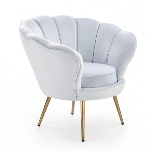 Amorino Πολυθρόνα γαλάζια 94x74x83/46 cm