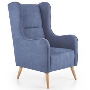 Chester πολυθρόνα μπλε  67x85x114/46 cm