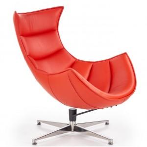 Luxor πολυθρόνα κόκκινη 76x84x96/36 cm