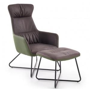 Tinto πολυθρόνα με υποπόδιο