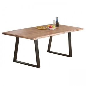 Τραπέζι ΖΕΑ7097,S / ΔΙΑΣΤΑΣΕΙΣ 160x90x75cm Πάχος ξύλου 2.5cm