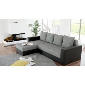 K/Foxy καναπές γωνία με κρεβάτι και αποθηκευτικό χώρο 230x144x75 cm