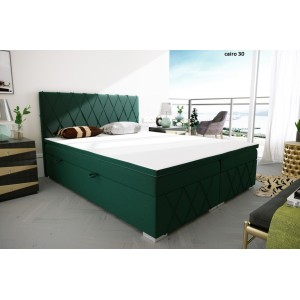 C/Royal κρεβάτι boxspring με στρώμα και αποθηκευτικό χώρο