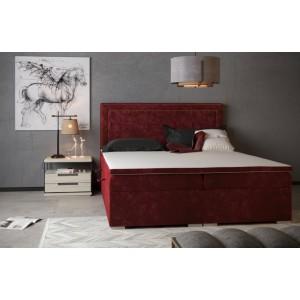 C/Quarto Κρεβάτι boxspring με στρώμα και αποθηκευτικό χώρο