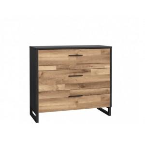 Jakobina Συρταριέρα 120x41,3x86 cm