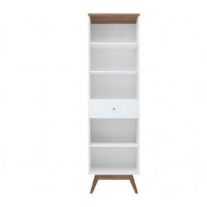 Heda βιβλιοθήκη 56x40.5x194.5 cm
