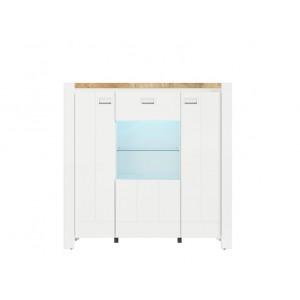 Dreviso βιτρίνα 125x41.5x124 cm