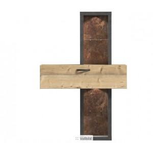 Kalomira ραφιέρα 120x30.4x183.4 cm