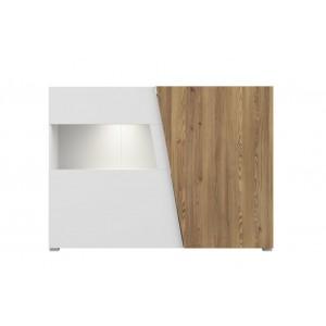 Rauma βιτρίνα 43x150x107 cm