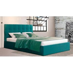 Dallas plus κρεβάτι με δώρο στρώμα και αποθηκευτικό χώρο 171x215x111/35,5 cm