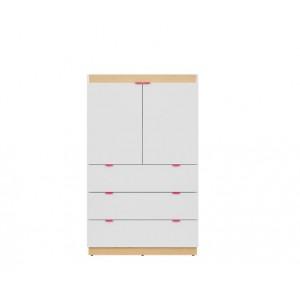 Princeton ντουλάπι 80x42x130.5 cm