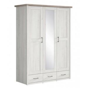 Luca Juzi ντουλάπα 3 πόρτες 148x200.5x61.5