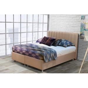 Line κρεβάτι με αποθηκευτικό χώρο για στρώμα 160x200 cm