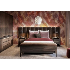 Notte NT-03 Κρεβάτι με αποθηκευτικό χώρο 177x134x224