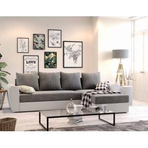 K/ Oxford καναπές γωνία με κρεβάτι και αποθηκευτικό χώρο 240x140 cm