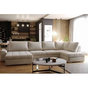 K / Cascada καναπές γωνία με κρεβάτι 342x192x162 cm