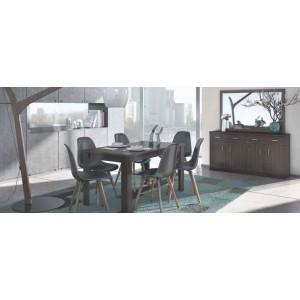 Chicago Τραπέζι 150+30x90x80 cm