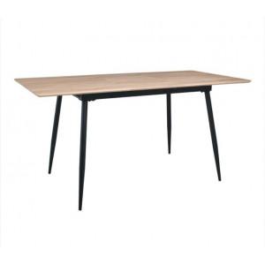 Τραπέζι ZEM850 / ΔΙΑΣΤΑΣΕΙΣ 120+(40)x80x76cm