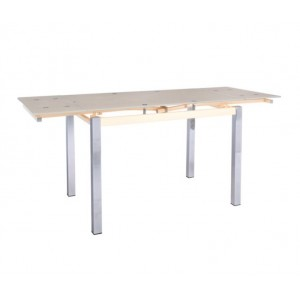 Τραπέζι Επεκτεινόμενο ZEM982 / ΔΙΑΣΤΑΣΕΙΣ 110+(30+30)x70x77cm