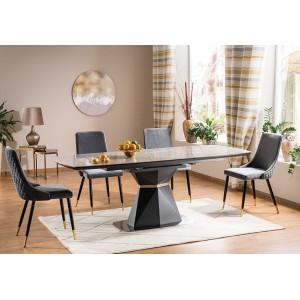 S / Cortez Ceramic Τραπέζι ανοιγόμενο 160/210Χ90Χ76