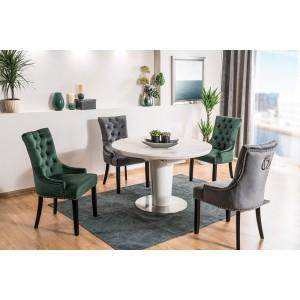 S / Orbit Ceramic Grey τραπέζι ανοιγόμενο 120/160Χ120Χ76